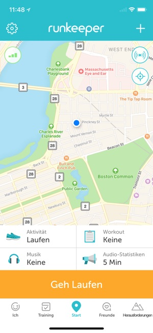 Runkeeper – GPS-Lauf-Tracker Screenshot