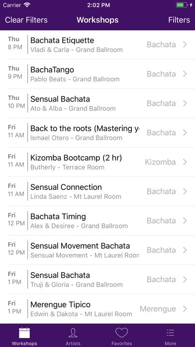 NJ Bachata Festival screenshot two