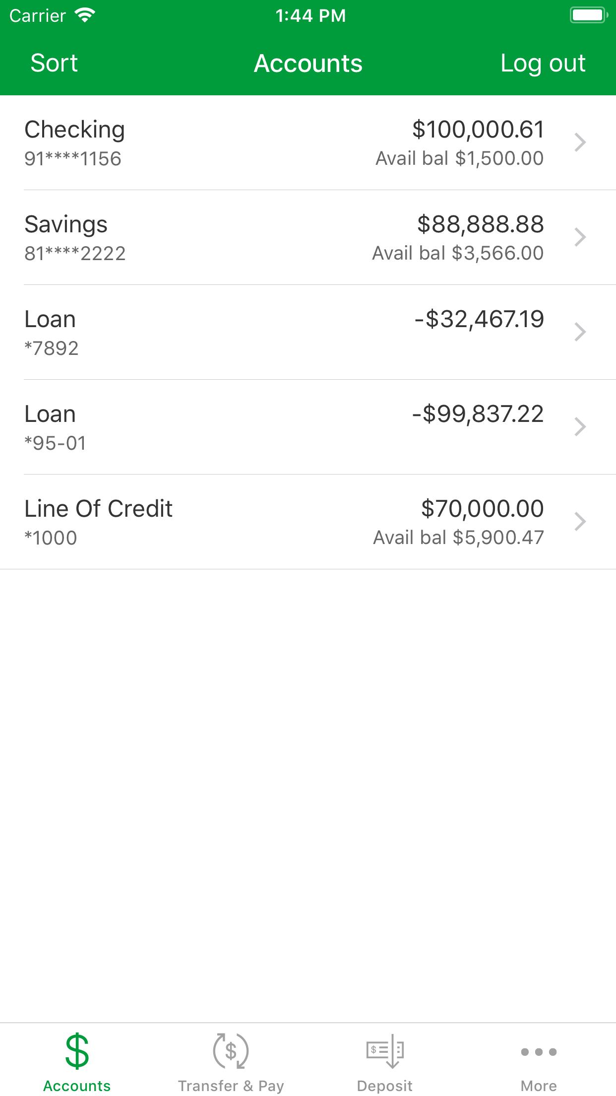 Associated Bank Mobile Screenshot