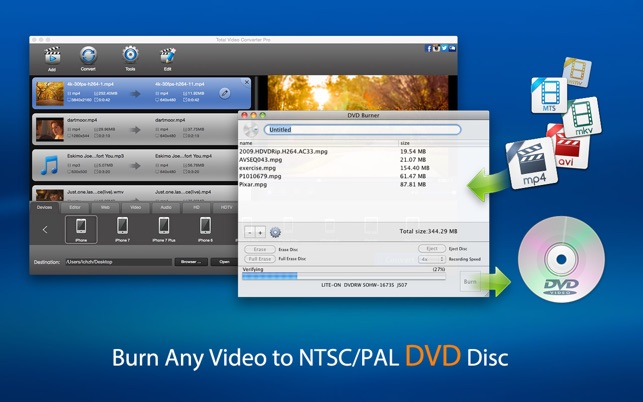 Total video converter pro dvd on the mac app store ccuart Choice Image