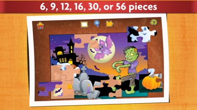 Halloween Kids Jigsaw Puzzles screenshot two