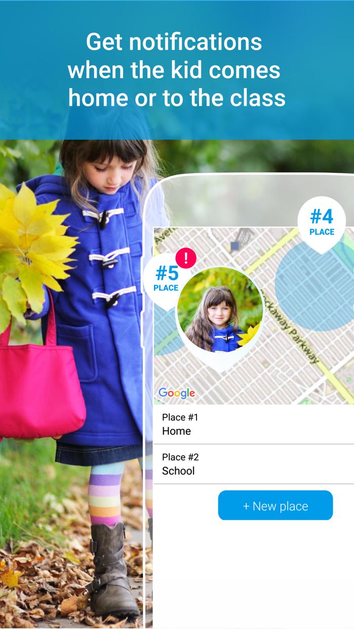 Find my kids: family tracker Screenshot