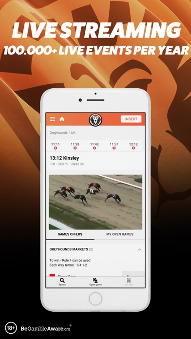 LeoVegas Sports Betting screenshot three