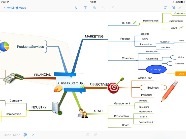 iMindMap HD screenshot-1