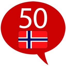 Learn Norwegian – 50 languages