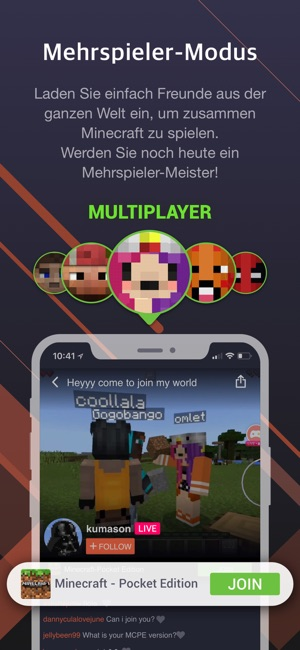 Omlet Arcade Im App Store - Minecraft zusammen spielen ipad