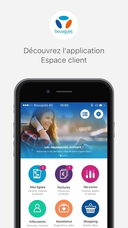 Espace Client Bouygues Telecom screenshot-0