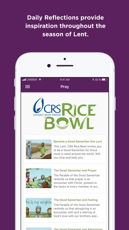 CRS Rice Bowl - Catholic