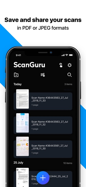 ScanGuru - PDF scanner Screenshot