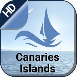 Canaries Island boating gps nautical offline chart