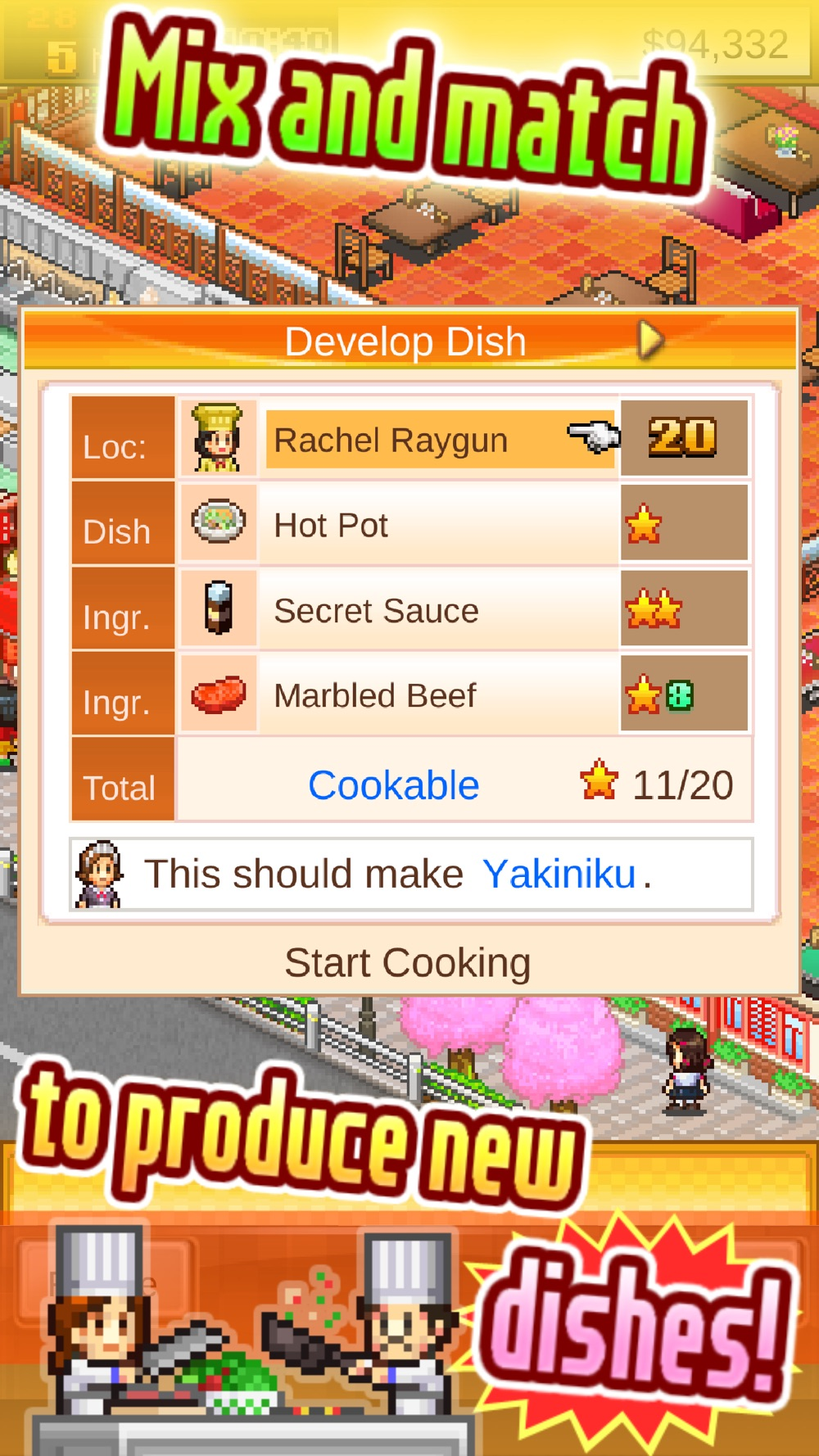 Cafeteria Nipponica SP Cheat Codes