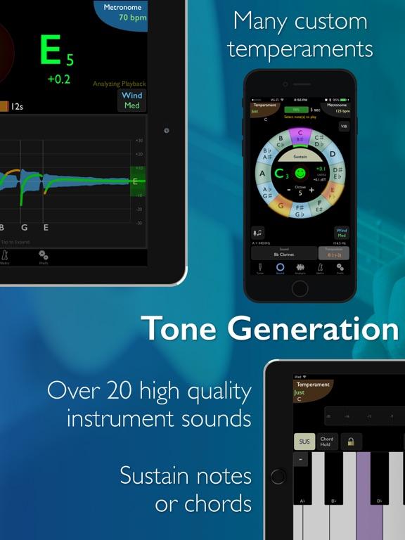 Screenshot #3 for TonalEnergy Tuner & Metronome
