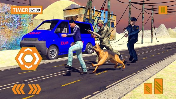 Police Dog Sniffer Border Patrol & Transport Duty screenshot-4