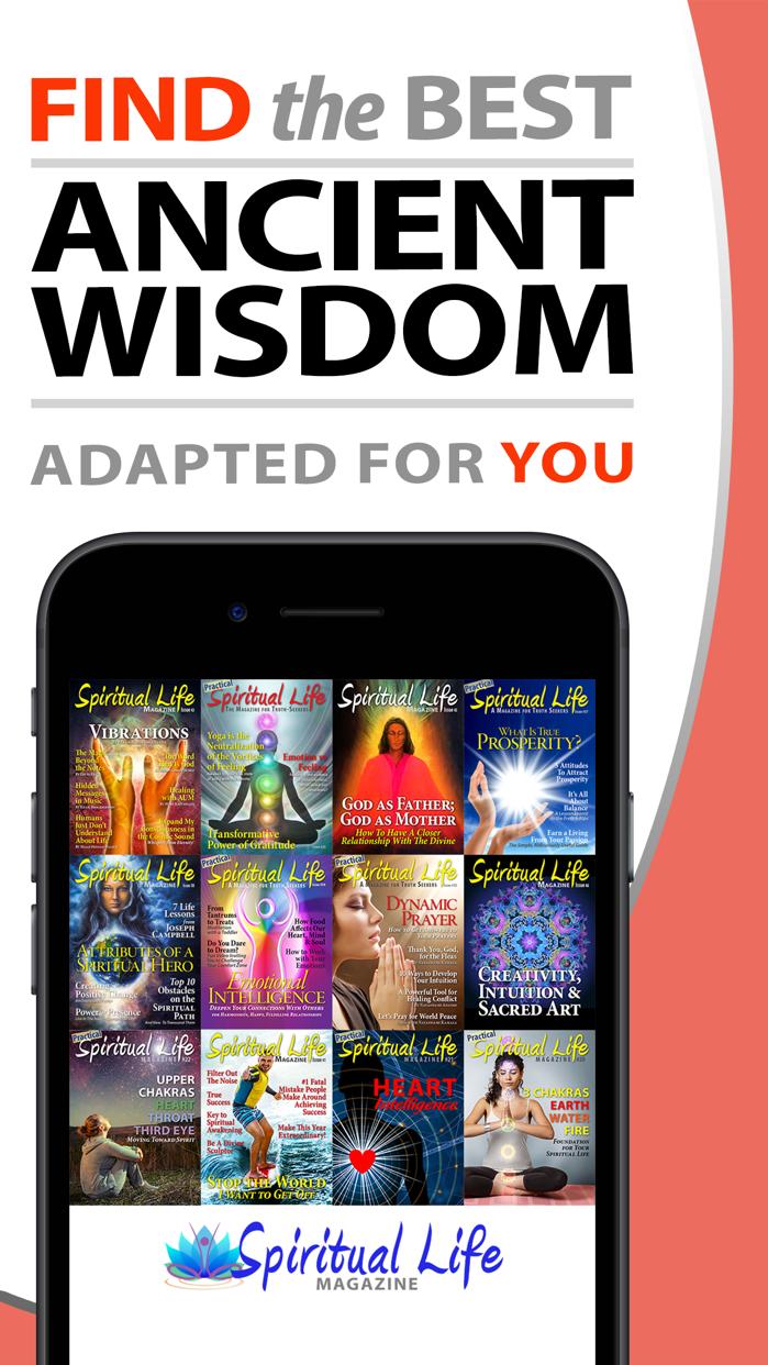 Spiritual Life Magazine Screenshot