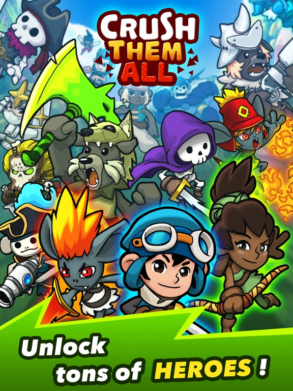 Игра Crush Them All - Idle RPG