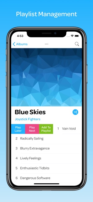 Glider Music Player on the App Store