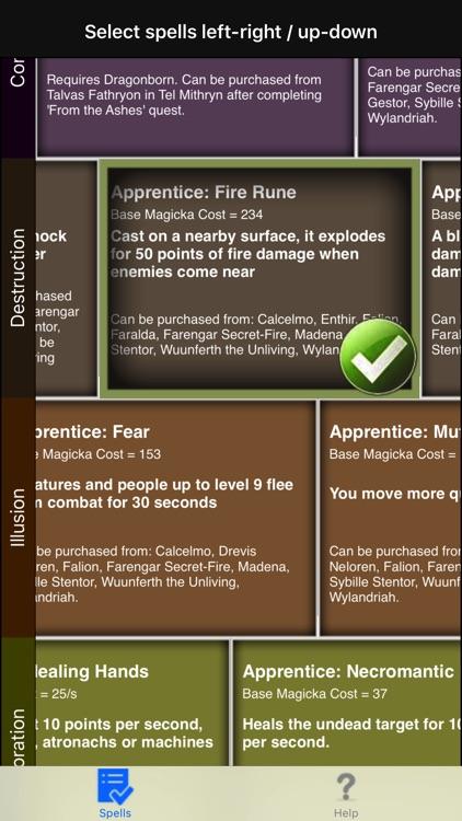 Spells in Skyrim ® screenshot-3