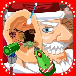 Christmas Santa Ear Doctor