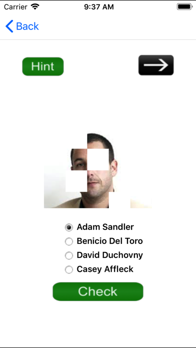 Guess The Celebrity-A Quiz App screenshot four