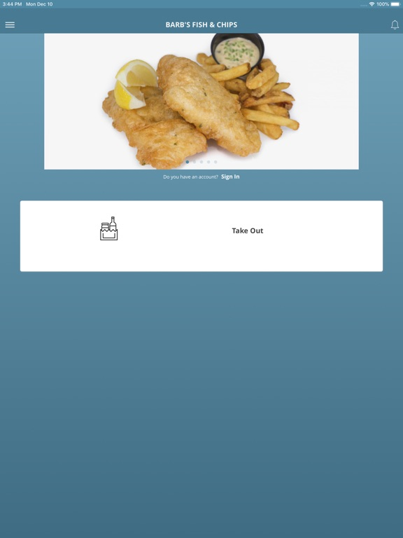 iPad Image of BARB'S FISH & CHIPS
