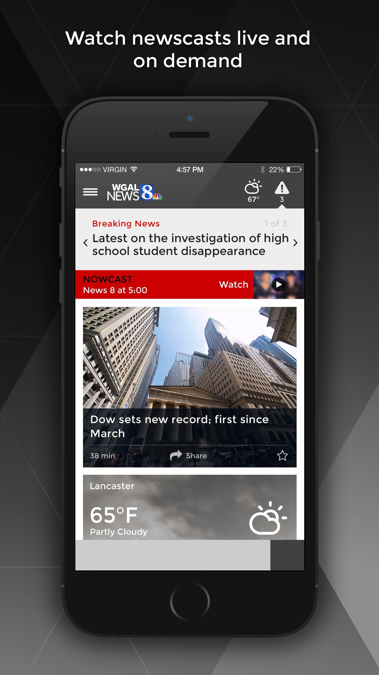 WGAL News 8 - Susquehanna Valley news and weather Screenshot