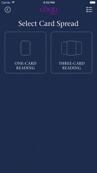 The Good Tarot screenshot 2