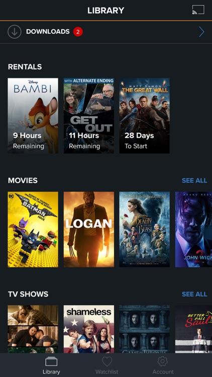 FandangoNOW - Movies + TV - anytime, anywhere