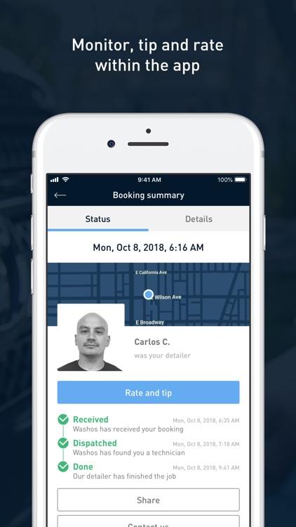 Washos: Mobile Car Wash App screenshot-4
