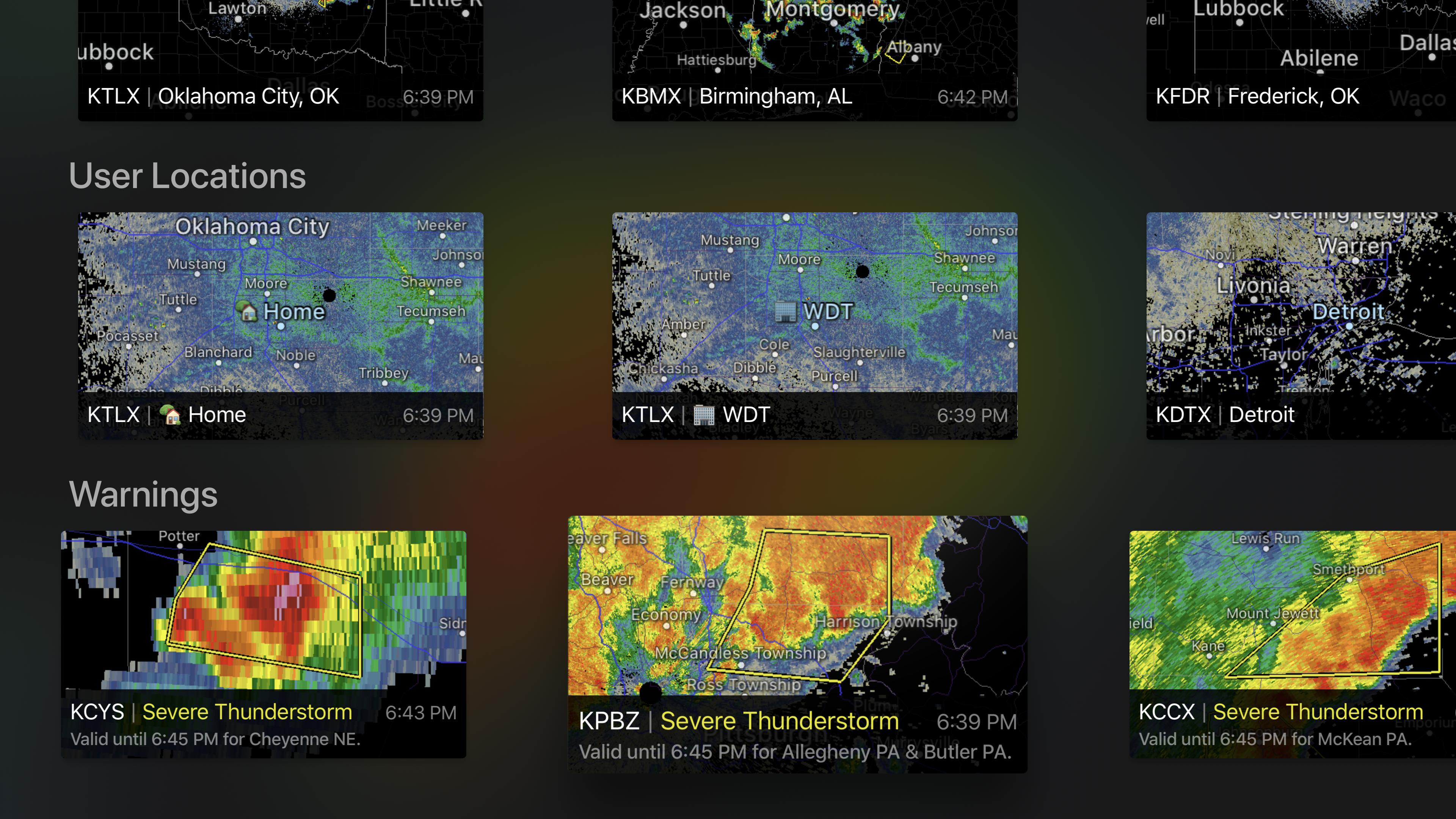 RadarScope screenshot 17