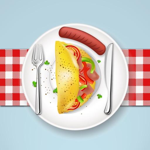 Gourmet Western Dish Stickers