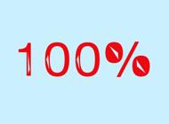 Percentage Stickers: 100%