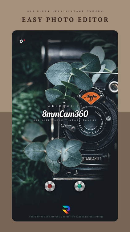 8mm Cam 360 - Photo Editor