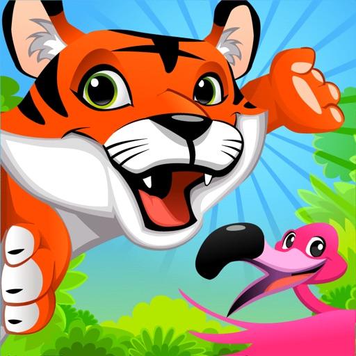 宝宝拼图游戏:湿地总动员之亚马逊动物乐园