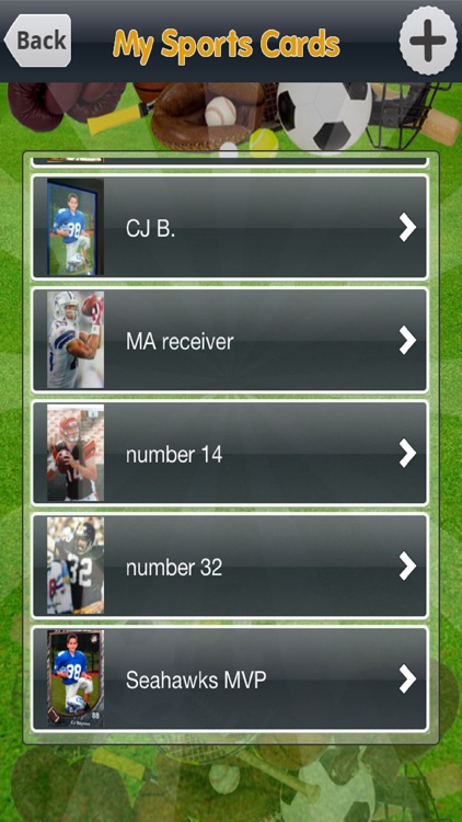 My Sports Cards Collection screenshot-3