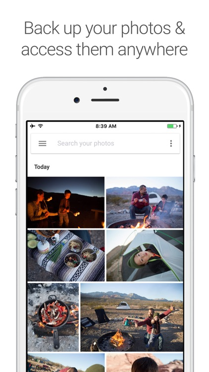Google Photos - unlimited photo and video storage screenshot-0