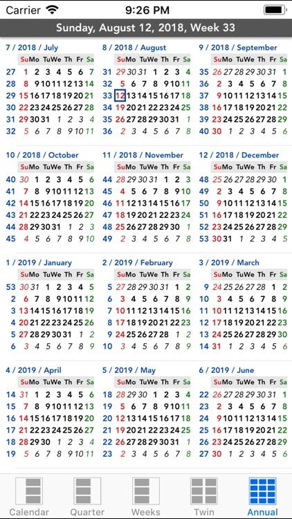 Flowing Calendar HD screenshot-3