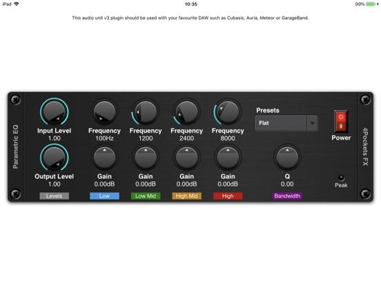Parametric EQ AUv3 Plugin screenshot 3