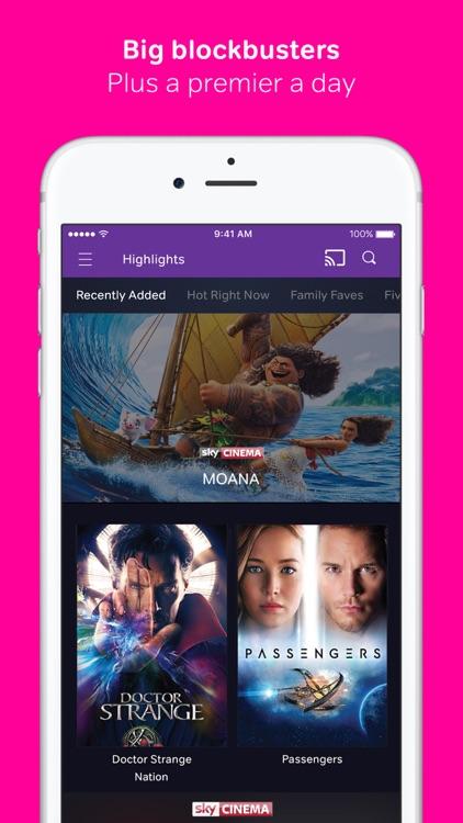 NOW TV: Movies, TV & Sports screenshot-0