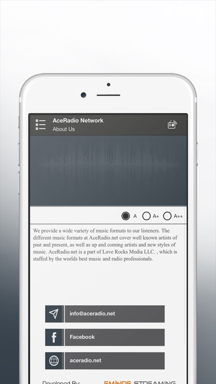 AceRadio network screenshot-3