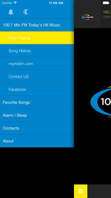 100.7 Mix FM Todays Hit Music screenshot two