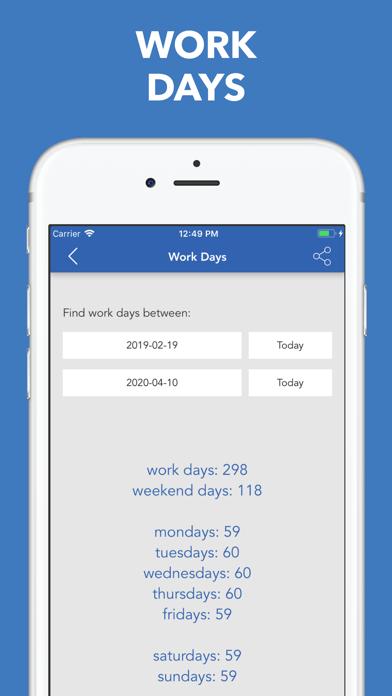 Date & Time Calculator(9 in 1) Screenshots