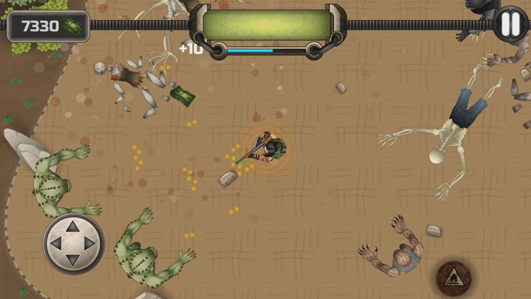 Kelly Faren Battle With Zombie screenshot-3