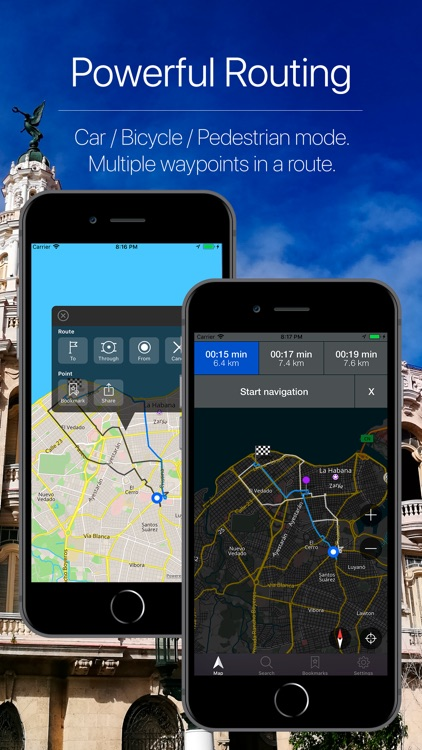 Cuba Offline Navigation screenshot-2