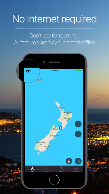 New Zealand Offline Navigation