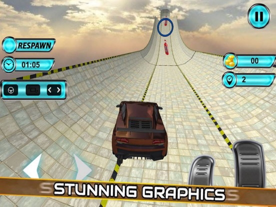 Vertical Ramp Stunts: Car Driv screenshot 4