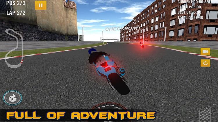 Electrifying Moto Racing Pro screenshot-3