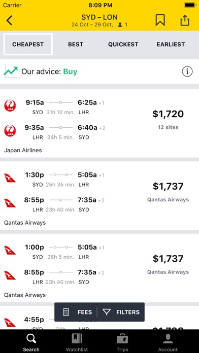 Download Cheapflights Flights & Hotels for Pc