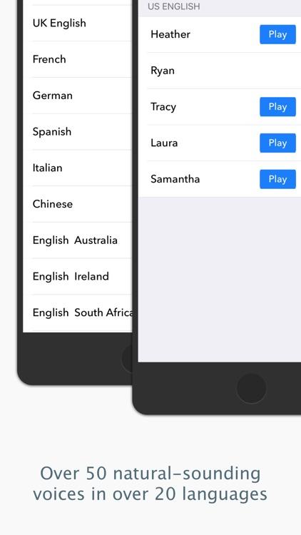 NaturalReader Text to Speech screenshot-3