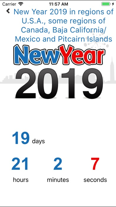 New Years Countdown 2019 review screenshots