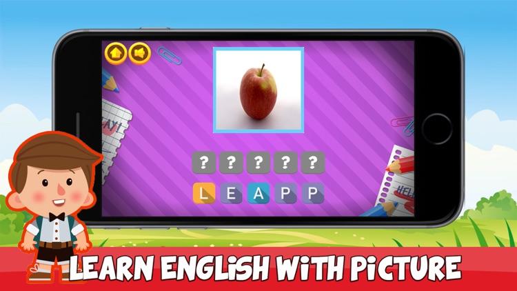 English Vocabulary - Fun Language Learning Game screenshot-3